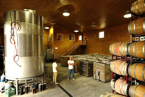 barrel room about tensley wines