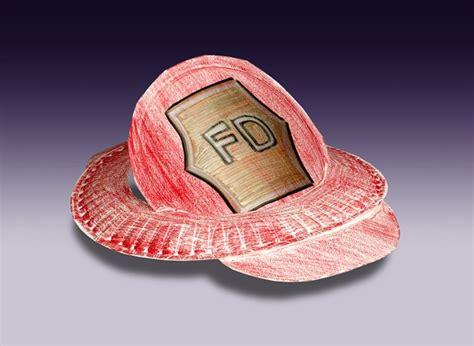hat craft for community helper hats craft crayola