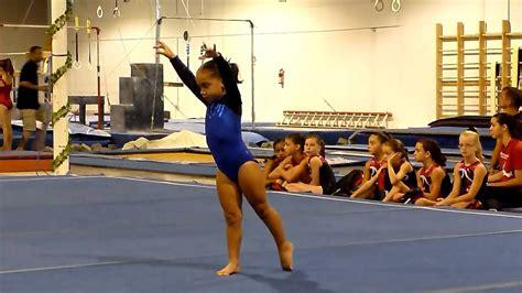 S Gymnastics Wardrobe by Level 2 Gymnastics Floor Routine Joelle S Meet