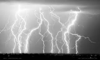 White Lightning Electric Skies In Black And White Lightning Photography