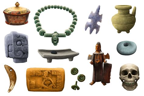 design artefacts mayan artifacts by tamiart on deviantart