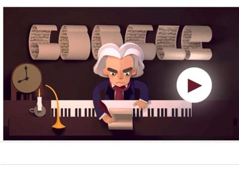 doodle beethoven interactive musical puzzle for s new doodle marking