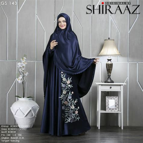 Gamis Gs 147 By Shiraaz Original Branded Khimar rumah savana gs 143 by shiraaz
