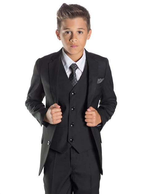 wedding attire for 13 year boy boys black suit prom suits boys wedding suits philip