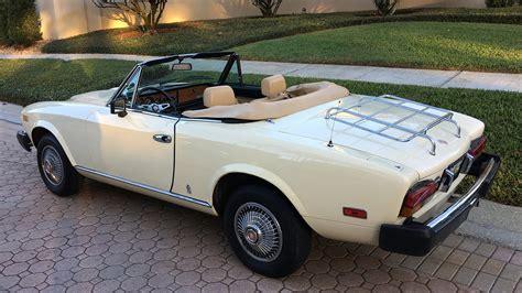 1980 fiat spider 2000 convertible g250 kissimmee 2017