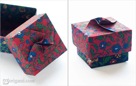 Origami Twist Box - origami boxes and dishes gallery go origami