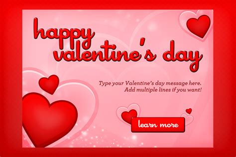 valentines day templates s day hearts template design panoply