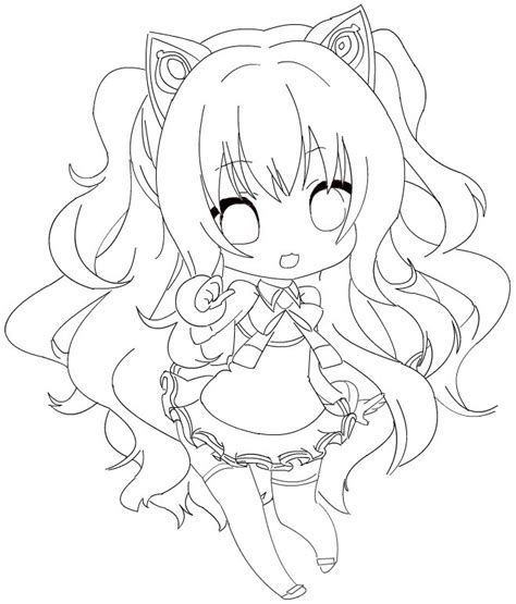 chibi miku luka coloring pages