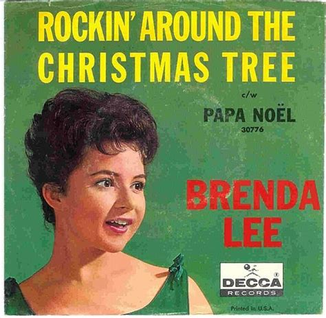 brenda lee rockin around the christmas tree 1960 toptenz net