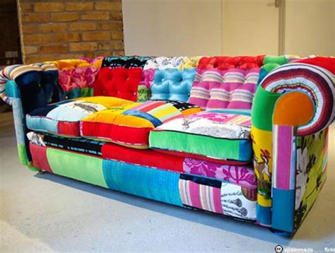 Diy Mah Jong Sofa Photos Canap 233 Patchwork