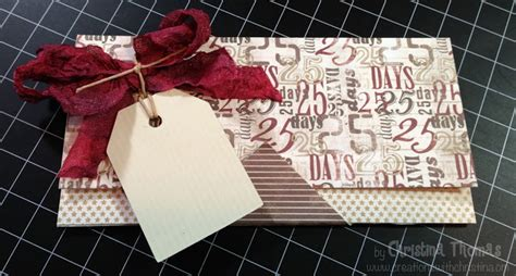 Cwc Gift Card - cwc 12 2 christmas gift card money holder creations with