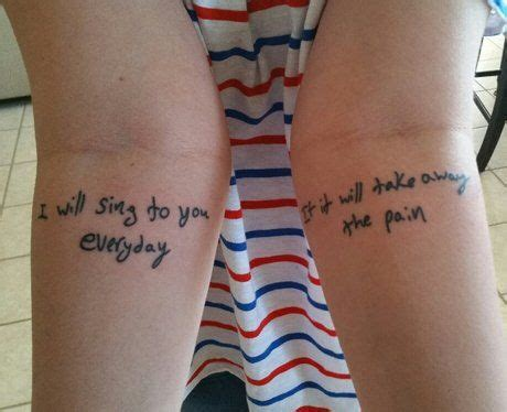 tattoo song lyrics ideas 1403 best images about oh how i love tattoos on