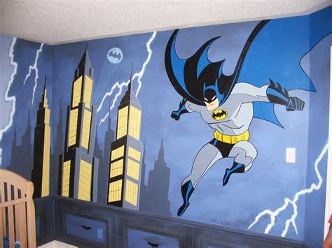 batman wall mural themes mural magic