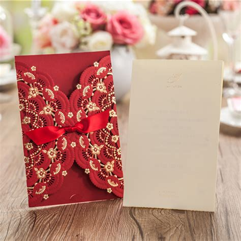 Unique Wedding Invitation Inserts by Aliexpress Buy 50 Pieces Lot Vintage Customized