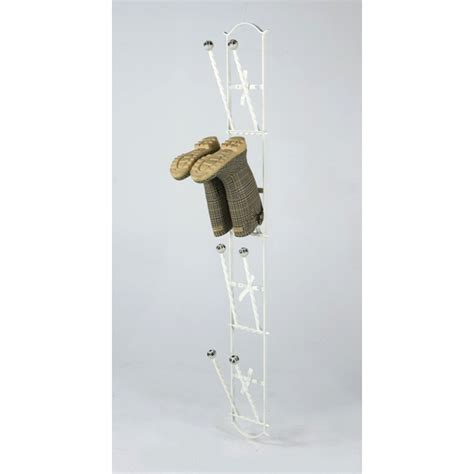 Wall Boot Rack by Black Country Metal Works Wall Mounted Boot Rack 4 Pairs On Sale