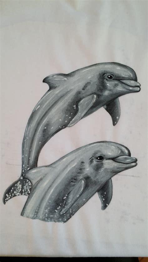 dibujos en blanco y negro sombras acuarelados by proyecto delfines pinta tus camisetas