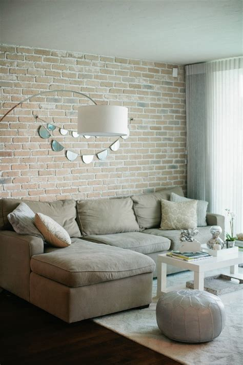 living room brick 59 cool living rooms with brick walls digsdigs