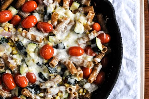Brown Butter Garden Vegetable Pasta Skillet How Sweet It Is Garden Vegetable Pasta