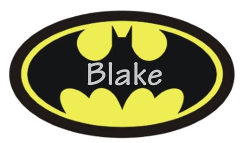 printable batman logo 8 best images of logo for batman party favors free