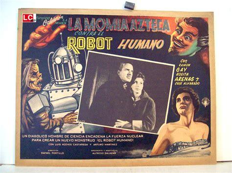 film robot umano quot la momia azteca contra el robot humano quot movie poster