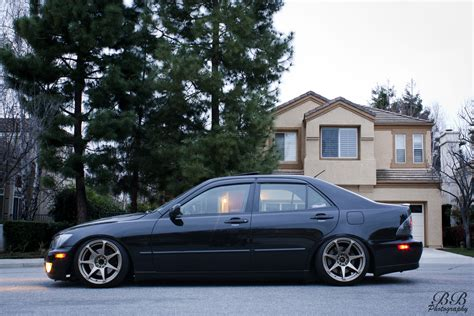 lexus is300 lowered lowered my is300 some more yesterday