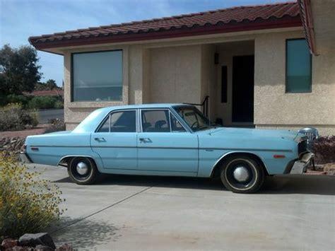 1976 Dodge Dart 4 Door by Sell Used 1976 Dodge Dart Sedan 4 Door 3 7l Slant 6 In