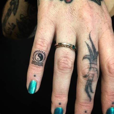 finger tattoo care instructions 80 peaceful and intriguing yin yang designs for your next