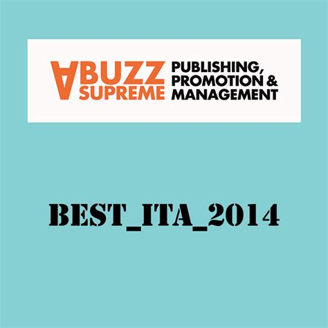 a buzz supreme best ita 2014 a buzz supreme rockerilla