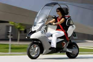 Bmw C1 Bmw Motorrad Introduces C1 E Electric Scooter Concept For