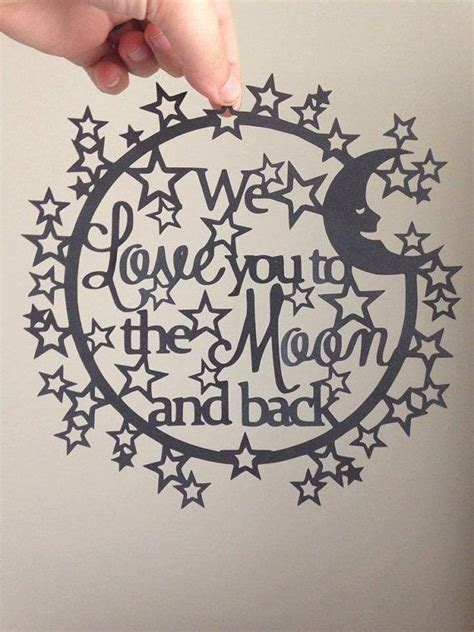 paper cutting templates paper cutting template we you to the moon by