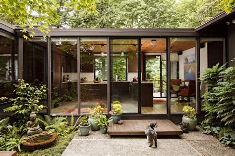 mid century modern homes homes and interiors on pinterest mid century modern mid