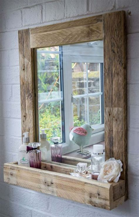 diy projects for bathroom 27 beautiful diy bathroom pallet projects for a rustic