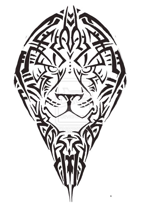 lion tattoo tribal images designs