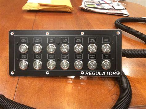 switch panel  regulator  hull truth boating