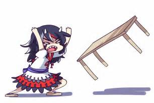 touhou 14 table flip gif find on giphy