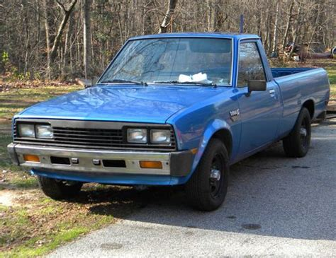 Sell Used 1985 Dodge Ram 50 Diesel Pickup Truck