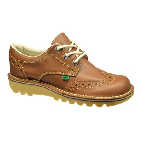 Sepatu Kickers Boots Leather 1 kickers kickers kick lo brogue leather f2 1 12356 mens boots kickers from