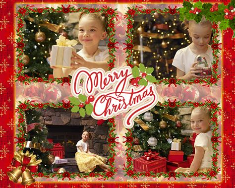 merry christmas collage   christmas cards  home