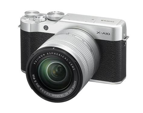 Kamera Mirrorless Fuji fujifilm introduces x a10 entry level mirrorless