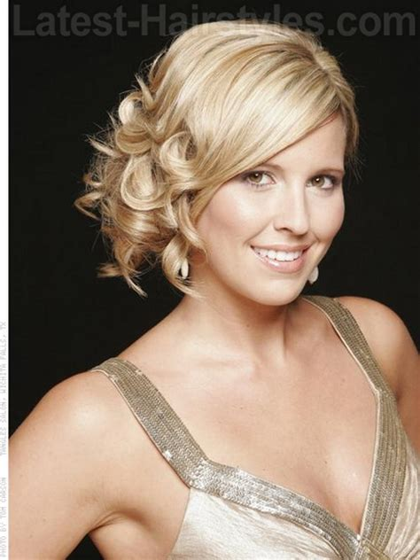 hairstyles for short hair formal formal hairstyles for short curly hair