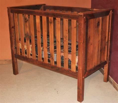 Rustic Wood Baby Crib Barn Wood Baby Crib Standard Barn Wood Furniture