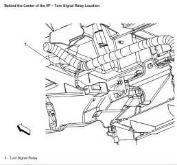 2008 silverado turn signal resistor location of turn signal flasher for 1997 chevy blazer autos post
