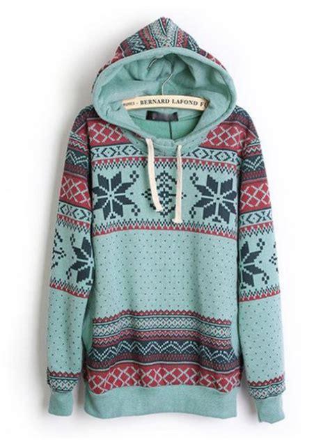 tribal pattern pullover hoodie sweater hoodie geometric blue hoodie tribal pattern