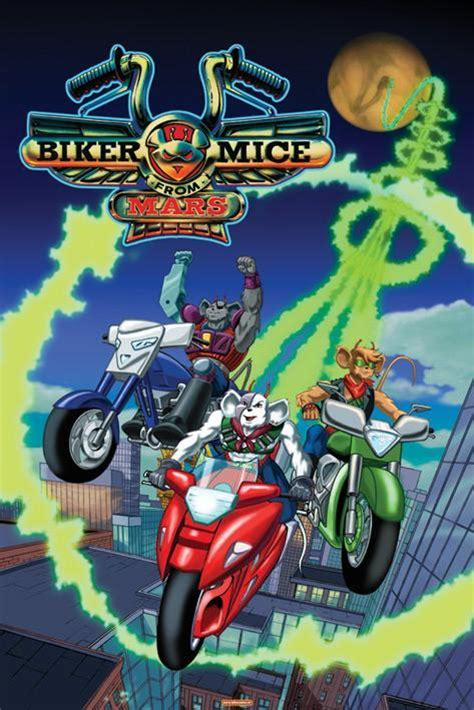 Y E Biker World by Los Motorratones De Marte Serie De Tv 1993 Filmaffinity