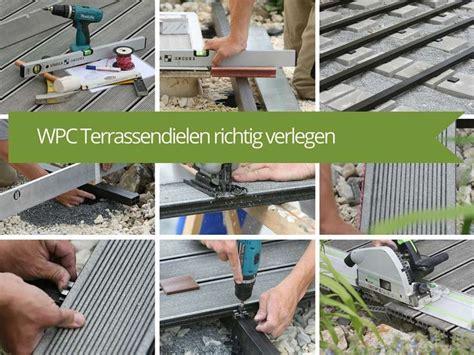 Terrassendielen Verlegen Anleitung 1628 by Die Besten 25 Wpc Terrassendielen Ideen Auf