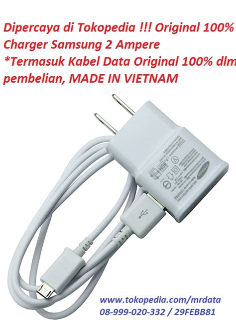Kabel Data Samsung Tab 2 Original jual charger kabel data microusb samsung s4 note 1 note 2 grand 2 original 100 sein mr
