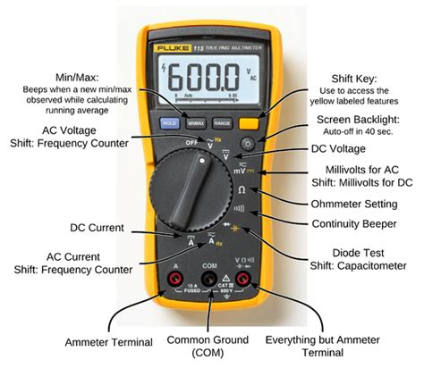 capacitor meter setting how to use a multi meter for alarm alarms