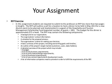 Apology Letter Late Assignment How To Write An Rfp