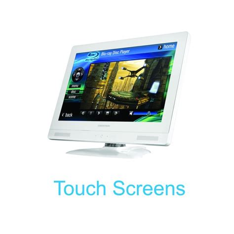 touch screen for home automation system crestron system