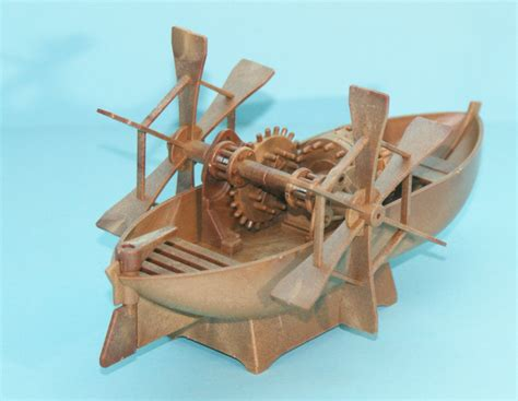 homemade pedal boat plans kyk academy 18130 da vinci paddleboat kit first look